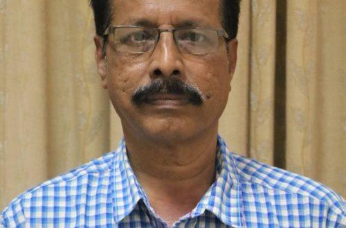 Dr. Swamy Atmananda, HOD Kannada